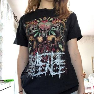 Tops - suicide silence band t-shirt